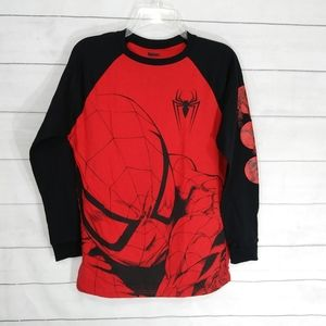 Marvel Shirts & Tops - Marvel Spiderman raglan graphic tee size XL